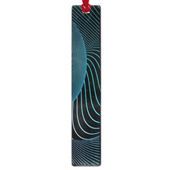 Line Light Blue Green Purple Circle Hole Wave Waves Large Book Marks by Alisyart