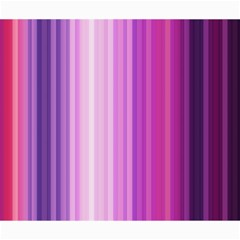 Pink Vertical Color Rainbow Purple Red Pink Line Canvas 20  X 24   by Alisyart