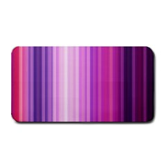 Pink Vertical Color Rainbow Purple Red Pink Line Medium Bar Mats by Alisyart