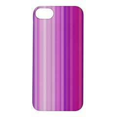 Pink Vertical Color Rainbow Purple Red Pink Line Apple Iphone 5s/ Se Hardshell Case by Alisyart