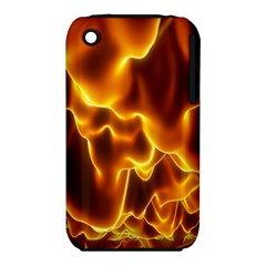 Sea Fire Orange Yellow Gold Wave Waves Iphone 3s/3gs
