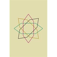 Shape Experimen Geometric Star Sign 5 5  X 8 5  Notebooks by Alisyart