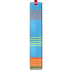 Sketches Tone Red Yellow Blue Black Musical Scale Large Book Marks by Alisyart