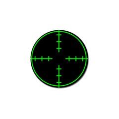 Sniper Focus Golf Ball Marker (4 Pack) by Alisyart
