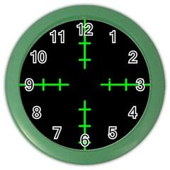 Sniper Focus Color Wall Clocks by Alisyart