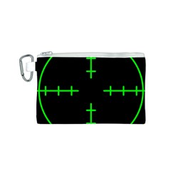 Sniper Focus Canvas Cosmetic Bag (s) by Alisyart