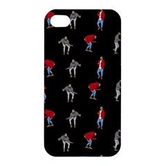 Drake Hotline Bling Black Background Apple Iphone 4/4s Premium Hardshell Case by Onesevenart