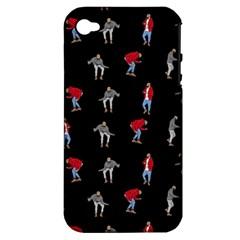 Drake Hotline Bling Black Background Apple Iphone 4/4s Hardshell Case (pc+silicone) by Onesevenart