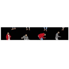 Drake Hotline Bling Black Background Flano Scarf (large) by Onesevenart