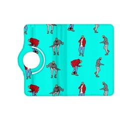 Hotline Bling Blue Background Kindle Fire Hd (2013) Flip 360 Case by Onesevenart