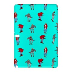 Hotline Bling Blue Background Samsung Galaxy Tab Pro 10 1 Hardshell Case by Onesevenart
