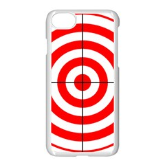 Sniper Focus Target Round Red Apple Iphone 7 Seamless Case (white) by Alisyart