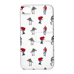 Hotline Bling Apple Iphone 4/4s Hardshell Case With Stand by Onesevenart