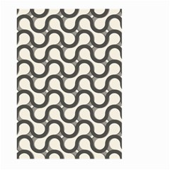 Shutterstock Wave Chevron Grey Large Garden Flag (two Sides) by Alisyart