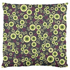 Ring Circle Plaid Green Pink Blue Standard Flano Cushion Case (two Sides) by Alisyart