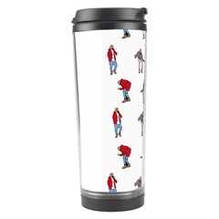Hotline Bling White Background Travel Tumbler by Onesevenart