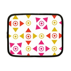 Spectrum Styles Pink Nyellow Orange Gold Netbook Case (small)  by Alisyart