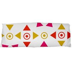Spectrum Styles Pink Nyellow Orange Gold Body Pillow Case Dakimakura (two Sides) by Alisyart
