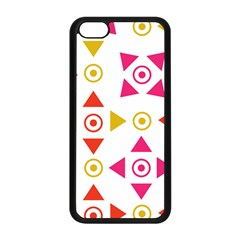 Spectrum Styles Pink Nyellow Orange Gold Apple Iphone 5c Seamless Case (black) by Alisyart