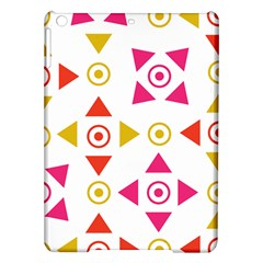 Spectrum Styles Pink Nyellow Orange Gold Ipad Air Hardshell Cases by Alisyart