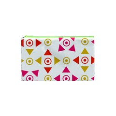 Spectrum Styles Pink Nyellow Orange Gold Cosmetic Bag (xs) by Alisyart