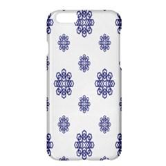 Snow Blue White Cool Apple Iphone 6 Plus/6s Plus Hardshell Case by Alisyart