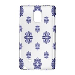 Snow Blue White Cool Galaxy Note Edge by Alisyart
