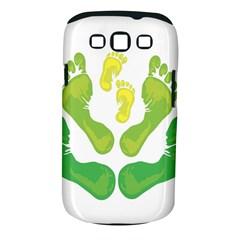 Soles Feet Green Yellow Family Samsung Galaxy S Iii Classic Hardshell Case (pc+silicone) by Alisyart