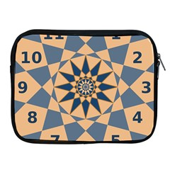 Stellated Regular Dodecagons Center Clock Face Number Star Apple Ipad 2/3/4 Zipper Cases by Alisyart