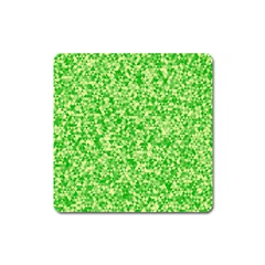 Specktre Triangle Green Square Magnet by Alisyart