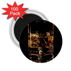 Drink Good Whiskey 2 25  Magnets (100 Pack)  by Onesevenart