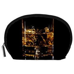 Drink Good Whiskey Accessory Pouches (large)  by Onesevenart