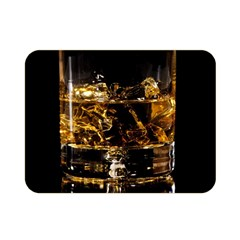 Drink Good Whiskey Double Sided Flano Blanket (mini)  by Onesevenart