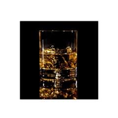 Drink Good Whiskey Satin Bandana Scarf by Onesevenart