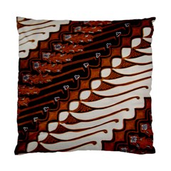 Traditional Batik Sarong Standard Cushion Case (one Side) by Onesevenart