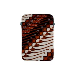 Traditional Batik Sarong Apple Ipad Mini Protective Soft Cases by Onesevenart