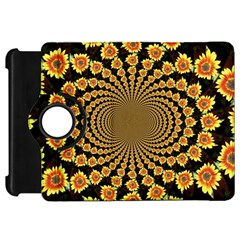 Psychedelic Sunflower Kindle Fire Hd 7  by Photozrus