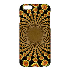 Psychedelic Sunflower Apple Iphone 6 Plus/6s Plus Hardshell Case by Photozrus