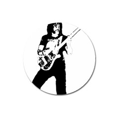 Lemmy   Magnet 3  (round) by Photozrus