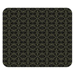 Dark Interlace Tribal  Double Sided Flano Blanket (small)  by dflcprints