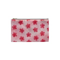 Watercolor Flower Patterns Cosmetic Bag (small)  by TastefulDesigns