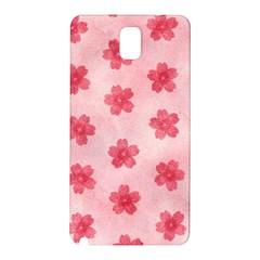 Watercolor Flower Patterns Samsung Galaxy Note 3 N9005 Hardshell Back Case by TastefulDesigns