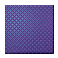 Abstract Purple Pattern Background Face Towel by TastefulDesigns
