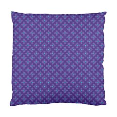 Abstract Purple Pattern Background Standard Cushion Case (two Sides) by TastefulDesigns