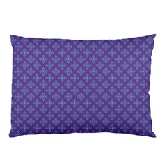 Abstract Purple Pattern Background Pillow Case by TastefulDesigns