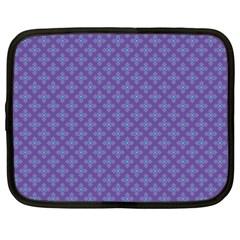 Abstract Purple Pattern Background Netbook Case (xxl)  by TastefulDesigns