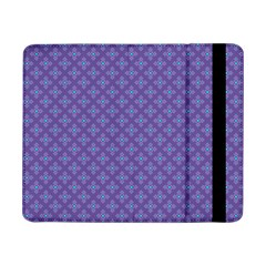 Abstract Purple Pattern Background Samsung Galaxy Tab Pro 8 4  Flip Case by TastefulDesigns