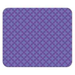 Abstract Purple Pattern Background Double Sided Flano Blanket (small)  by TastefulDesigns