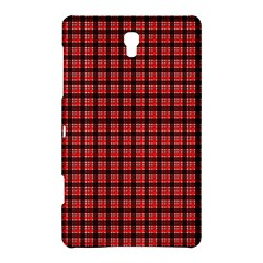 Red Plaid Samsung Galaxy Tab S (8.4 ) Hardshell Case  by PhotoNOLA