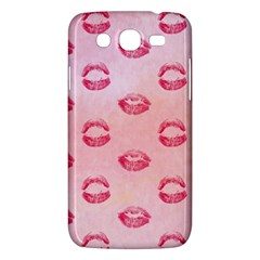 Watercolor Kisses Patterns Samsung Galaxy Mega 5 8 I9152 Hardshell Case  by TastefulDesigns